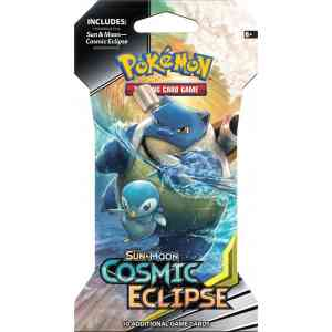 SM12 Cosmic Eclipse Booster Sleeve Blastoise Large