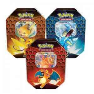 PokemonTCG Hidden fates tins art set