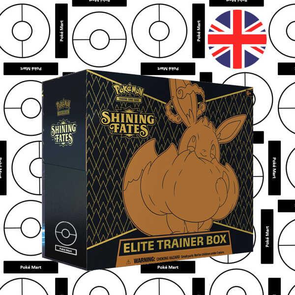 Shining Fates Elite trainer box pokemart.be