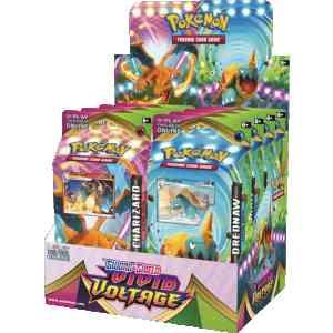 Theme decks Vivid voltage display