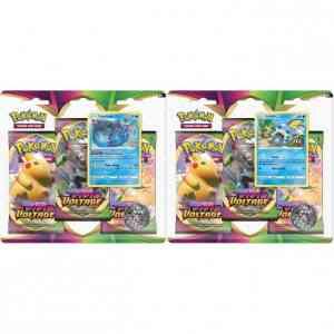 Vivid Voltage 3 pack blister bundel van 2 (Vaporeon & Sobble)