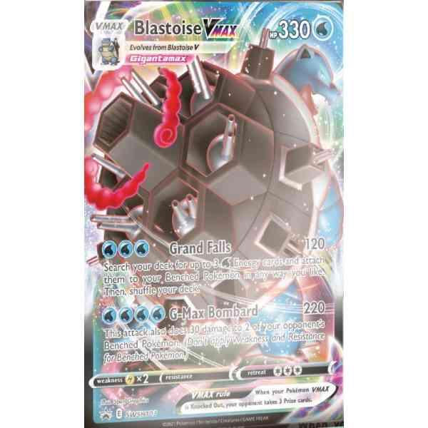 Pokémon Sword & Shield Battle Styles Blastoise VMAX