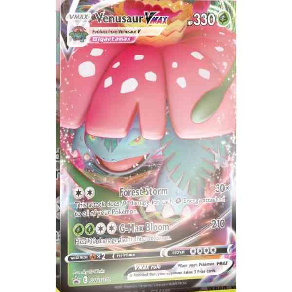 Pokémon Sword & Shield Battle Styles Venusaur VMAX