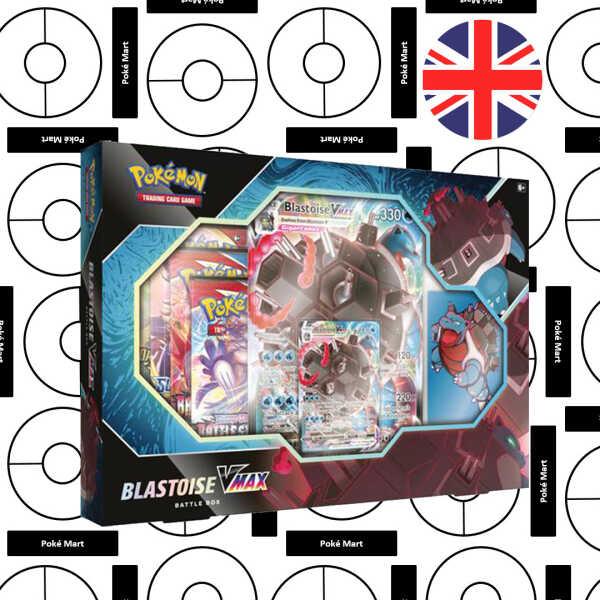 Pokémon Sword & Shield Battle Styles Blastoise VMAX Box