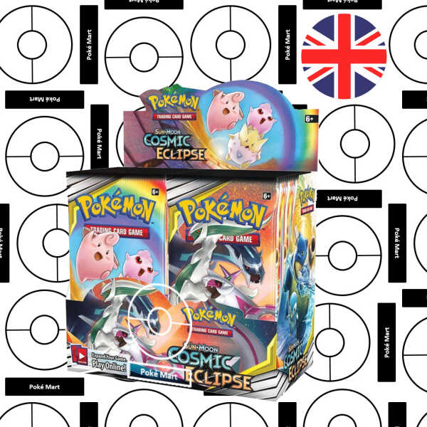 Pokemon Cosmic Eclipse Booster Box