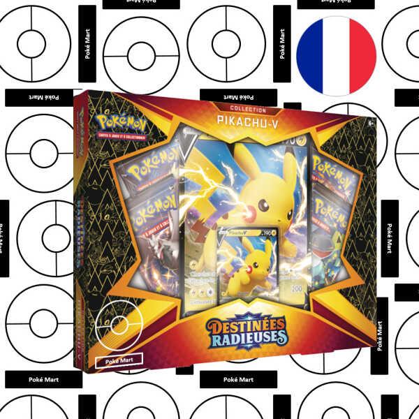 Destinees Radiuses Pikachu-V Collection