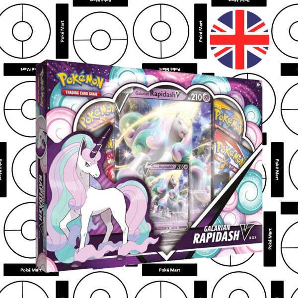 Galarian Rapidash V box Pokemart..be