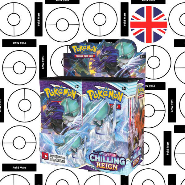 Chilling Reign boosterbox Pokemart.be