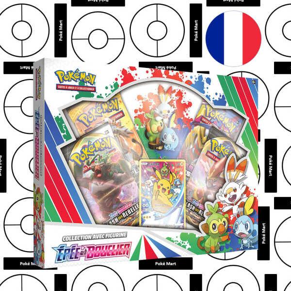 Coffret Pokémon Epee et Bouclier Collection avec Figurine - FR