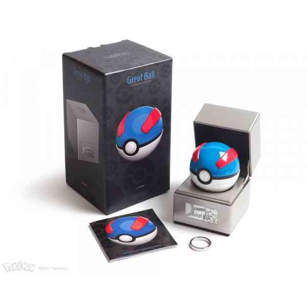 Pokémon Diecast Replica Great Ball manual ring and box pokemart.be
