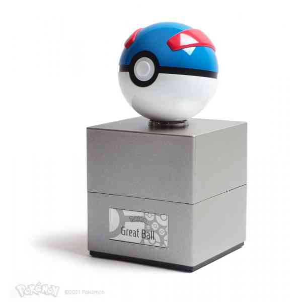Pokémon Diecast Replica Great Ball ring illustration pokemart.be