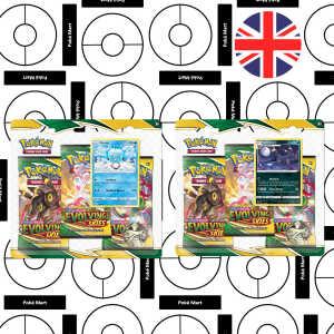 Evolving Skies 3-Booster blister umbreon Eiscue pokemart.be