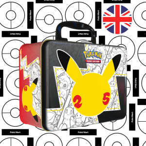 Pokemon 25th Anniversary Celebrations collector chest pokemart.be