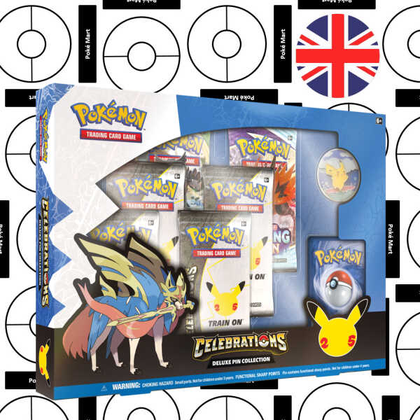 Pokémon 25th Anniversary Celebrations Deluxe Pin Collection - Pokemart.be