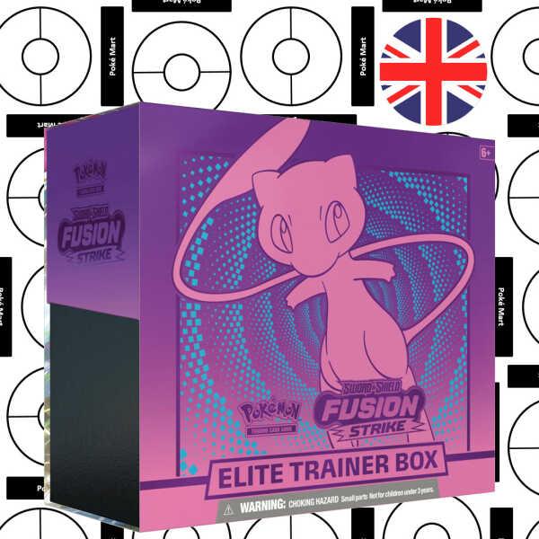 Pokemon Fusion Strike Elite trainer box mew pokemart.be