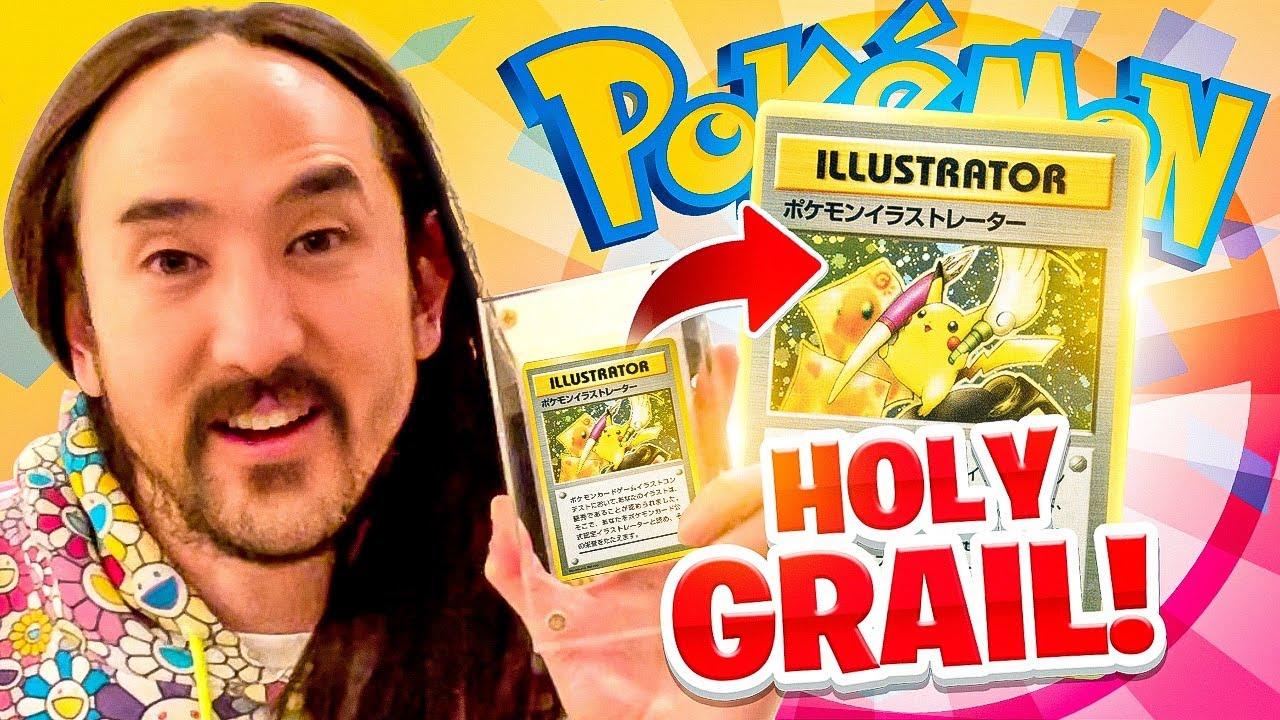 Steeds meer beroemdheden investeren in Pokémon kaarten